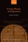 Cover for Events, Phrases, and Questions