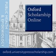 Cover for Oxford Scholarship Online - Public Health and Epidemiology