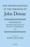 Cover for The Oxford Edition of the Sermons of John Donne