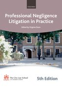Cover for Professional Negligence Litigation in Practice