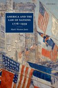 Cover for America and the Law of Nations 1776-1939