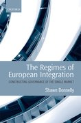 Cover for The Regimes of European Integration