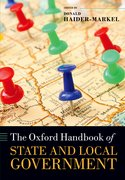 Cover for The Oxford Handbook of State and Local Government