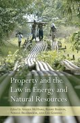 Cover for Property and the Law in Energy and Natural Resources