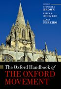 Cover for The Oxford Handbook of the Oxford Movement