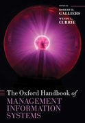 Cover for The Oxford Handbook of Management Information Systems