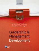 Cover for Leadership and Management Development
