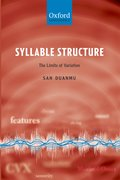 Cover for Syllable Structure