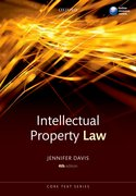 Cover for Intellectual Property Law Core Text