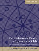 Cover for The Mathematical Theory of Symmetry in Solids