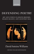 Cover for Defending Poetry