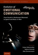 Cover for The Evolution of Emotional Communication