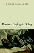 Cover for Between Saying and Doing