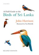 Cover for A Field Guide to the Birds of Sri Lanka