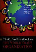 Cover for The Oxford Handbook on The World Trade Organization