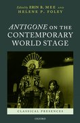 Cover for Antigone on the Contemporary World Stage