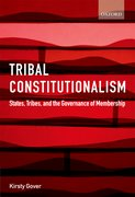 Cover for Tribal Constitutionalism