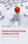 Cover for Identities and Social Change in Britain since 1940