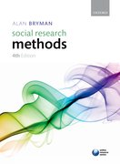 Cover for Social Research Methods