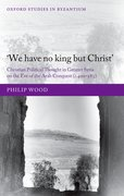 Cover for We have no king but Christ