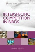 Cover for Interspecific Competition in Birds