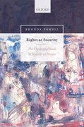 Cover for Rights as Security - 9780199589111