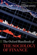 Cover for The Oxford Handbook of the Sociology of Finance