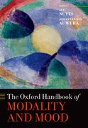 Cover for The Oxford Handbook of Modality and Mood - 9780199591435