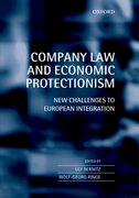 Cover for Company Law and Economic Protectionism