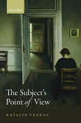 Cover for The Subject