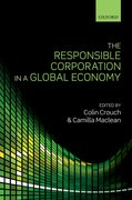 Cover for The Responsible Corporation in a Global Economy