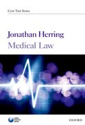 Cover for Medical Law