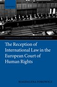 Cover for The Reception of International Law in the European Court of Human Rights