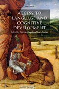 Cover for Access to Language and Cognitive Development