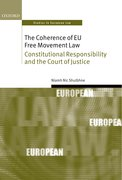 Cover for The Coherence of EU Free Movement Law