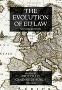 Cover for The Evolution of EU Law