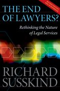 Cover for The End of Lawyers?
