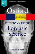 Cover for A Dictionary of Forensic Science