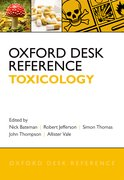 Cover for Oxford Desk Reference: Toxicology