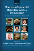 Cover for Neurodevelopmental Disorders Across the Lifespan