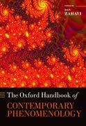 Cover for The Oxford Handbook of Contemporary Phenomenology