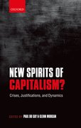Cover for New Spirits of Capitalism?