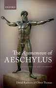 Cover for The Agamemnon of Aeschylus