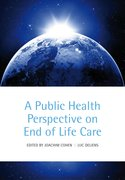 Cover for A Public Health Perspective on End of Life Care