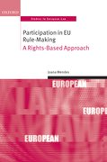 Cover for Participation in EU Rule-making