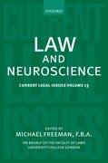 Cover for Law and Neuroscience