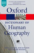 Cover for A Dictionary of Human Geography
