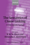 Cover for The Semantics of Clause Linking