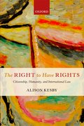 Cover for The Right to Have Rights
