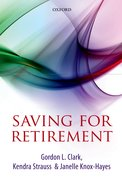 Cover for Saving for Retirement